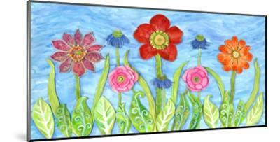 Flower Play II-Kaeli Smith-Mounted Art Print