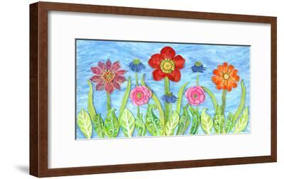 Flower Play II-Kaeli Smith-Framed Art Print