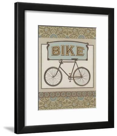 Bike-Erica J^ Vess-Framed Art Print