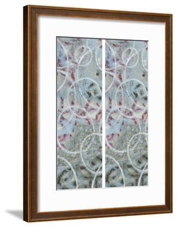 2-Up Linked Layers III-Karen Deans-Framed Art Print
