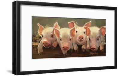 The Big Squeeze-Carolyne Hawley-Framed Art Print