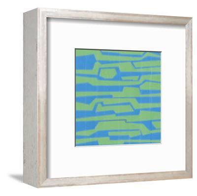 Modern Circuit V-Charles McMullen-Framed Art Print