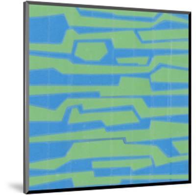 Modern Circuit V-Charles McMullen-Mounted Art Print