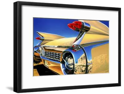 '59 El Dorado Athens-Graham Reynolds-Framed Art Print