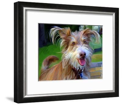 Terrier Hairspray-Robert Mcclintock-Framed Art Print