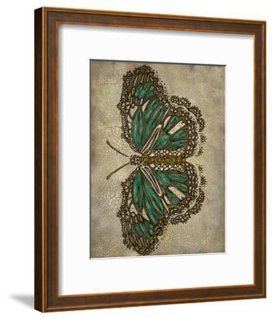 Lace Wing II-Chariklia Zarris-Framed Art Print