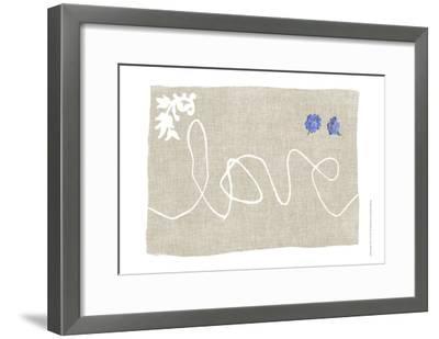Simple Words VI-Jennifer Goldberger-Framed Art Print