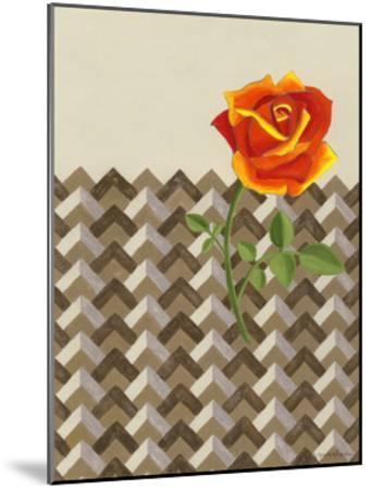 Rosa Dawn II-Vanna Lam-Mounted Art Print