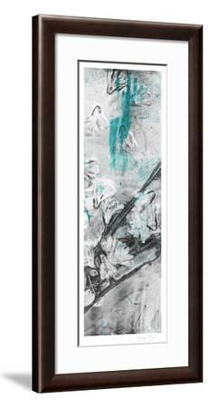 Ghost Print Floral II-Jennifer Goldberger-Framed Limited Edition