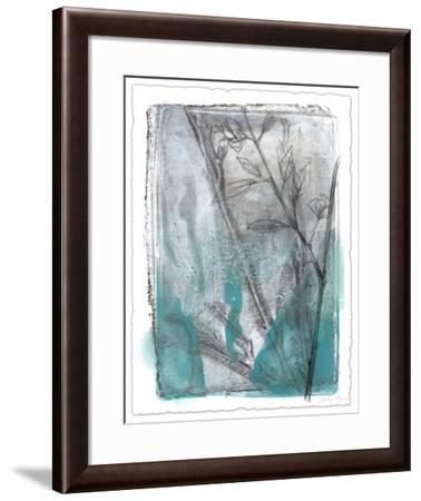 Ombre Wildflowers III-Jennifer Goldberger-Framed Limited Edition