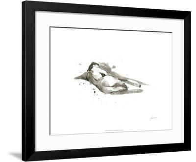 Ink Figure Study III-Ethan Harper-Framed Limited Edition