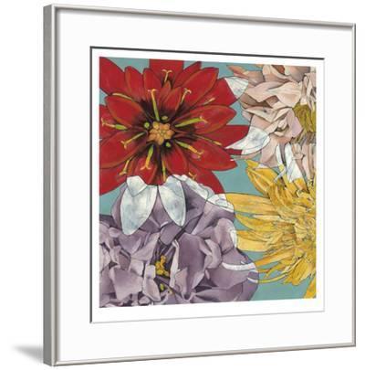 Flower Float II-Jennifer Goldberger-Framed Limited Edition