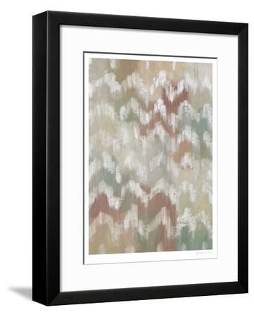 Gardenia Ikat II-Chariklia Zarris-Framed Limited Edition