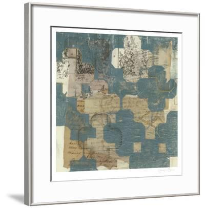 Deconstructed Quatrefoil I-Jennifer Goldberger-Framed Limited Edition