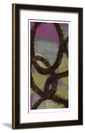 Fuchsia Links I-Jennifer Goldberger-Framed Limited Edition