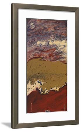 Buttons I-Dlynn Roll-Framed Giclee Print
