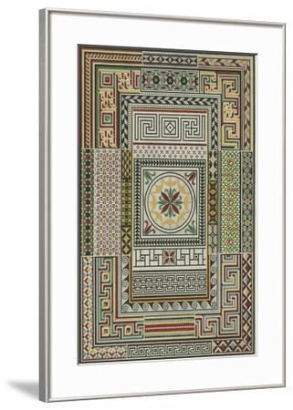 Pompeian Design-Owen Jones-Framed Giclee Print