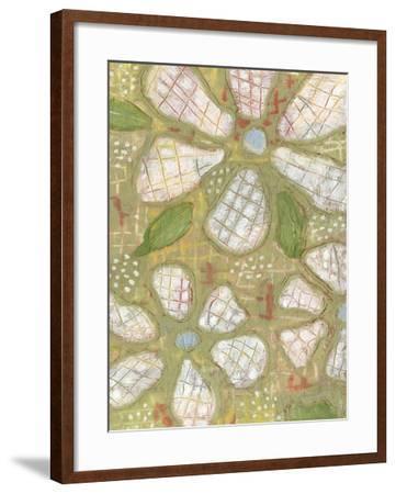 Textured Petals II-Karen Deans-Framed Giclee Print