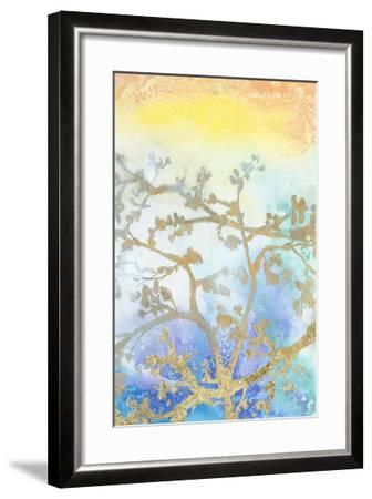 Gilt Branches II-Jennifer Goldberger-Framed Giclee Print