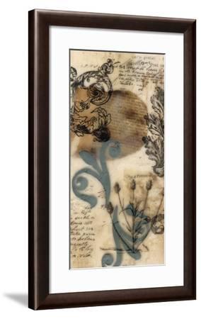 Encaustic Ephemera I-Jennifer Goldberger-Framed Giclee Print