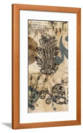 Encaustic Ephemera II-Jennifer Goldberger-Framed Giclee Print