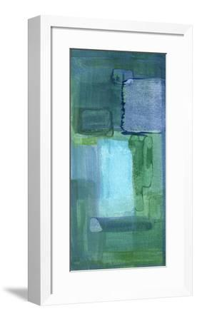Blue Patch II-Charles McMullen-Framed Giclee Print