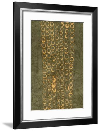 Primitive Patterns I-Renee W^ Stramel-Framed Giclee Print