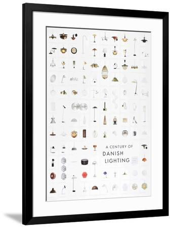A Century of Danish Lighting-Unknown-Framed Collectable Print