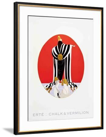 Monaco-Erte-Framed Collectable Print