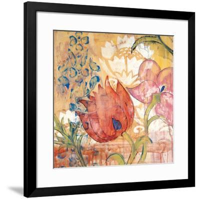 Mandarin Garden IV-Kate Birch-Framed Giclee Print