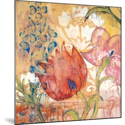 Mandarin Garden IV-Kate Birch-Mounted Giclee Print