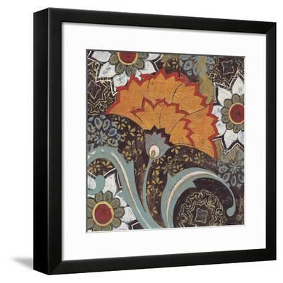 Fan Dance II-Kate Birch-Framed Giclee Print