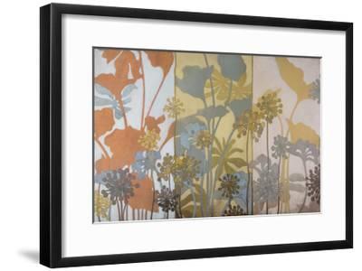 Meadow Pods-Sally Bennett Baxley-Framed Giclee Print