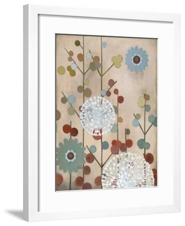 Mod Blossom-Sally Bennett Baxley-Framed Giclee Print