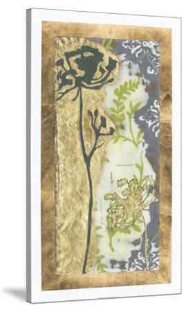 Patinaed Lace I-Jennifer Goldberger-Stretched Canvas Print