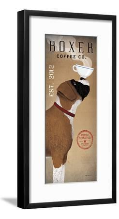Boxer Coffee Co-Ryan Fowler-Framed Art Print