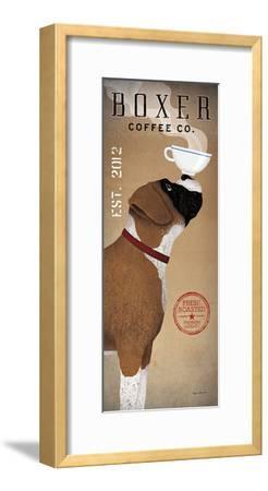 Boxer Coffee Co-Ryan Fowler-Framed Art Print