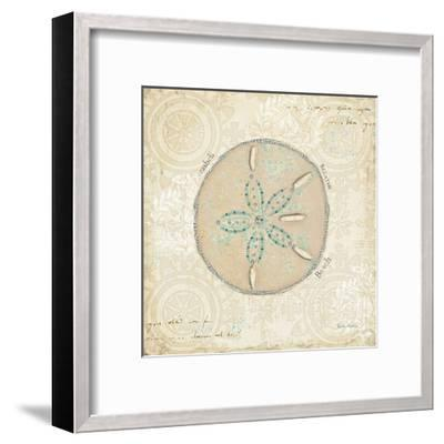 Beach Treasures IV-Emily Adams-Framed Art Print