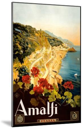 Amalfi Italia - Campania, Italy-Mario Borgoni-Mounted Art Print