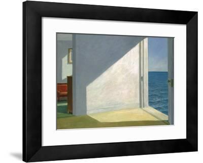Rooms by the Sea-Edward Hopper-Framed Art Print