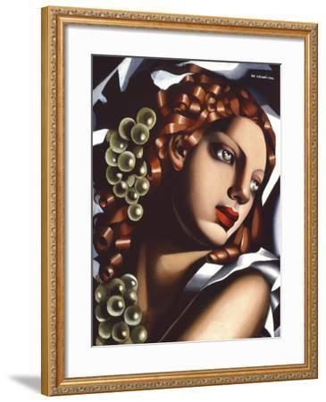 The Brilliance-Tamara de Lempicka-Framed Giclee Print