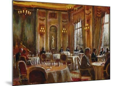 Afternoon at The Ritz-Clive McCartney-Mounted Giclee Print