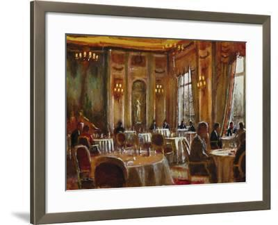 Afternoon at The Ritz-Clive McCartney-Framed Giclee Print