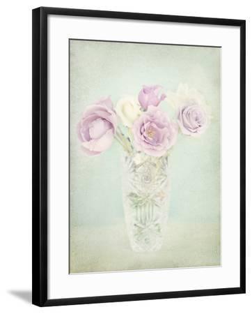 Vintage Flowers I-Shana Rae-Framed Giclee Print