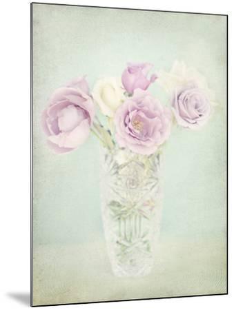 Vintage Flowers I-Shana Rae-Mounted Giclee Print