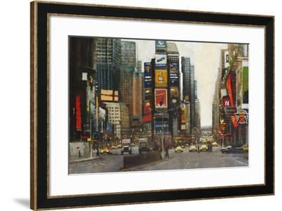 Times Square, New York-Clive McCartney-Framed Giclee Print