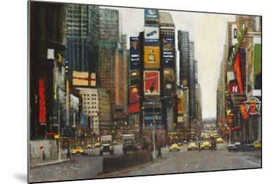 Times Square, New York-Clive McCartney-Mounted Giclee Print