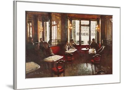 Cafe Florian, Venice-Clive McCartney-Framed Giclee Print