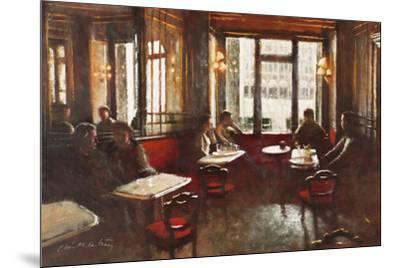 Cafe Florian, Venice-Clive McCartney-Mounted Giclee Print