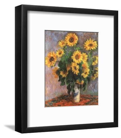 Sunflowers-Claude Monet-Framed Preframe Component - Art